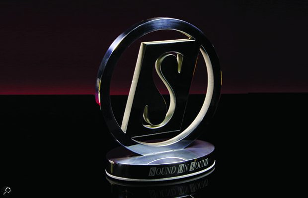 SOS Awards trophy.