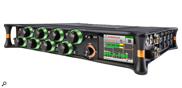 Sound Devices MixPre10M portable recorder.