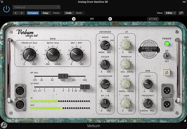 Soundevice Digital Verbum Entropic Hall