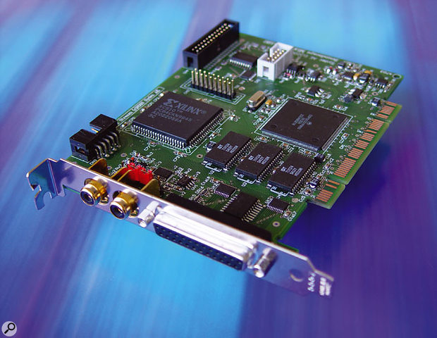 A single Mixtreme 192 card provides two TDIF in and out ports for up to 16-channel digital I/O.