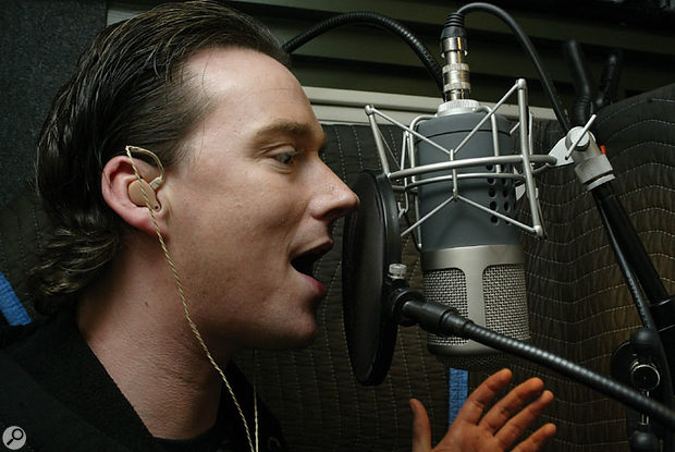 Russell Watson's voice was earmarked for the first verse.