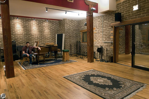 Electrical Audio is designed to offer a variety of acoustic spaces for recording.