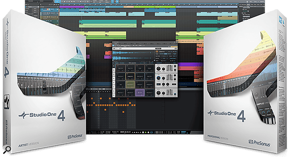 PreSonus Studio One 4 out now