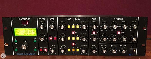 Studio Electronics SE1 monosynth (photo courtesy of Matrixsynth website).