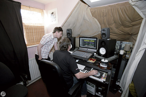 Having improved the performance of the monitoring system, Paul helped out on aYoung Runaways mix that Matthew had been struggling with.