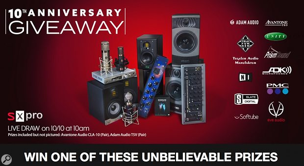 SX Pro 10th Anniversary £10,000 Giveaway