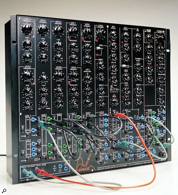 Synton Fenix semi-modular synthesizer.