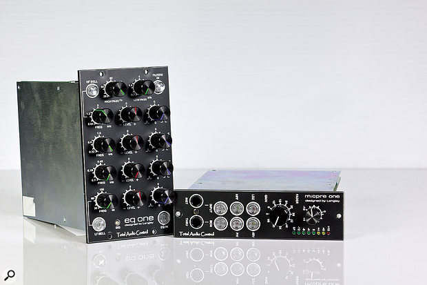 Total Audio Control 500 Series Modules