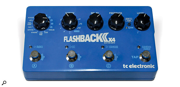 TC Electronic Flashback Delay 2 X4