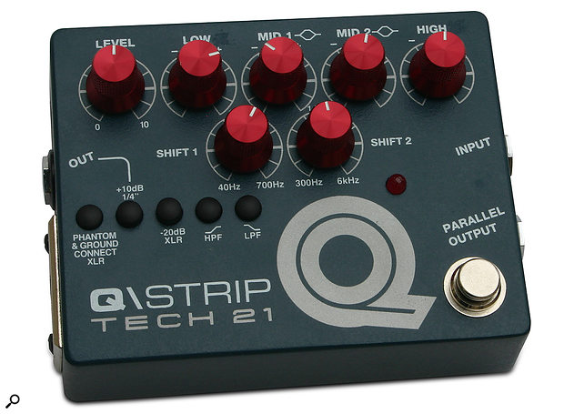 Tech 21 Q\Strip Preamp, EQ & DI Box