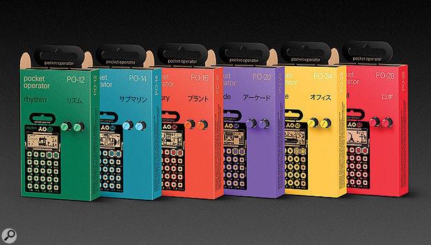 Teenage Engineering Pocket Operators.