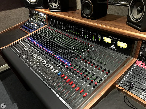 The 24-channel review model, installed in Cherry Tone Studios.