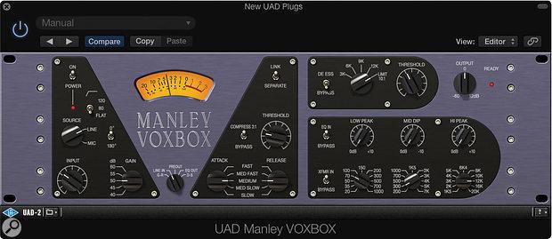 Manley Voxbox.