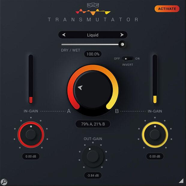 United Plugins Transmutator Blending & Morphing Plug-in