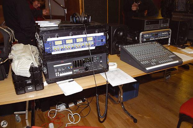 Hugh's Genex recorder system.