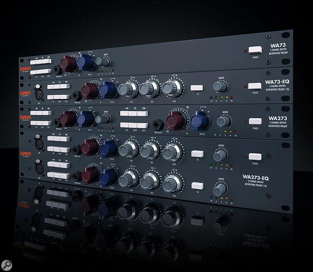 Warm WA73 mic preamps.