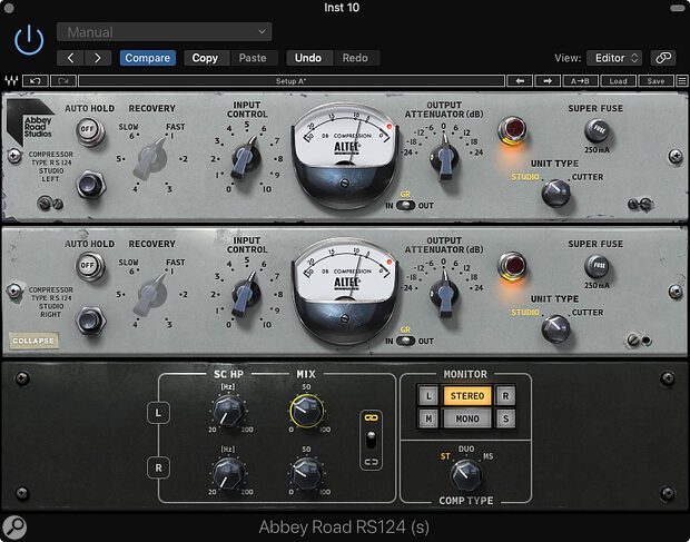 Waves Abbey Road RS124