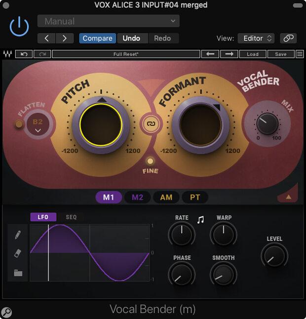 Waves Vocal Bender