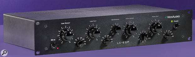 Wes Audio LC EQP Mono Valve Equaliser.
