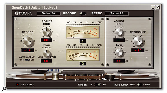 One of the three Studer tape machine emulations. This one is based upon the A80 MkI.