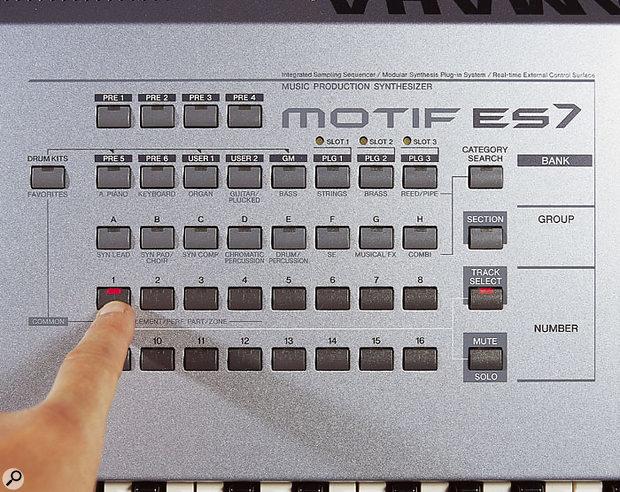 Yamaha Motif ES