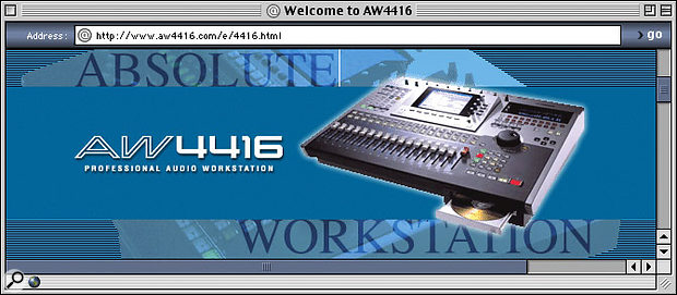 Yamaha AW4416 User Tips