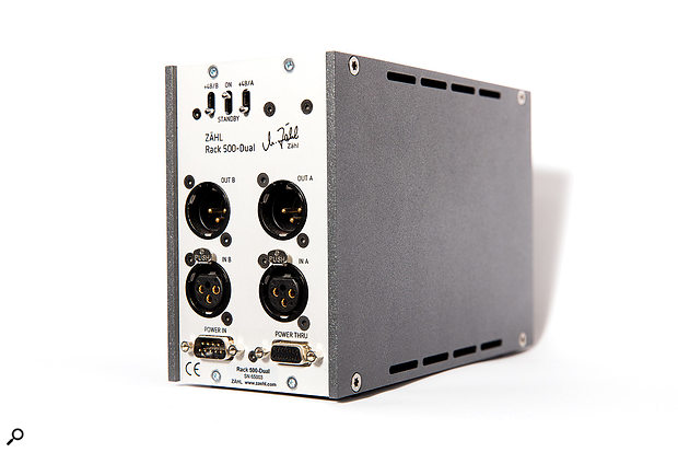 Zahl's own 500-series chassis employs an external PSU to power up to two modules.