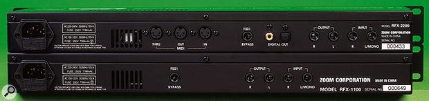 Zoom RFX2200 & RFX1100