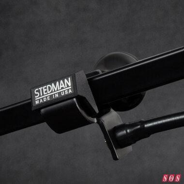 Stedman release pop filter adaptor for boom arms