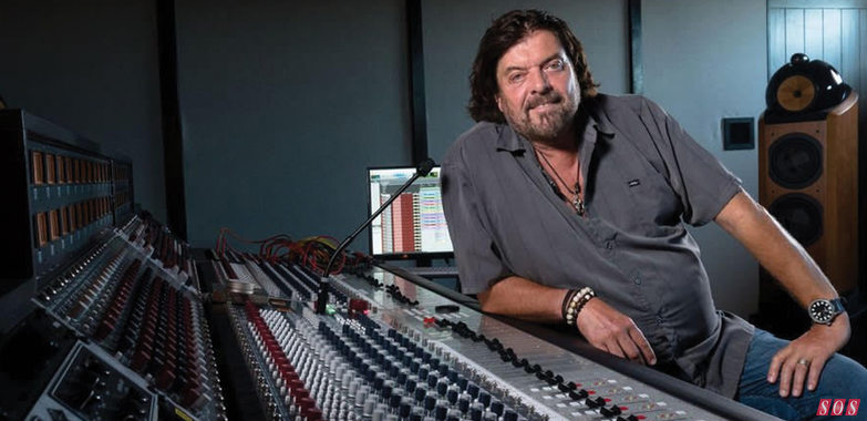 Mix and record with one of the recording industry's greats in California