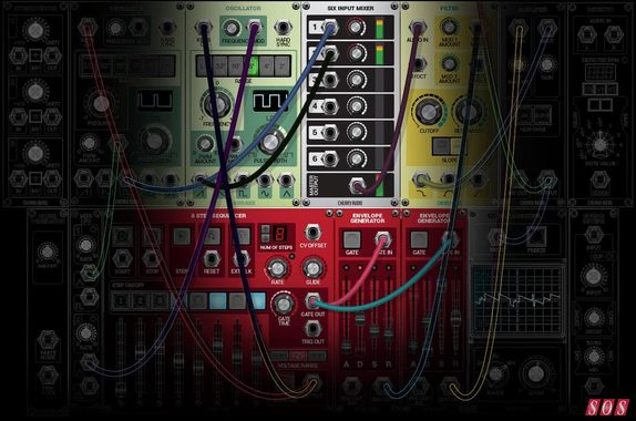 Free starter modular software from Cherry Audio