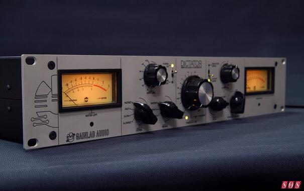 Gainlab Audio launch with two studio racks