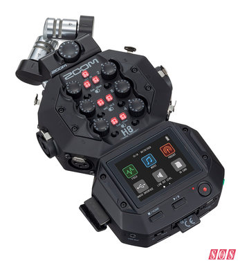 Zoom H8 Portable Recorder unveiled