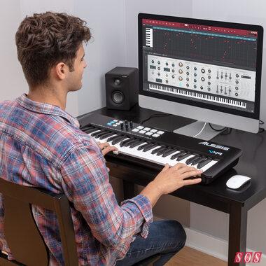 Alesis update V Series keyboard controllers