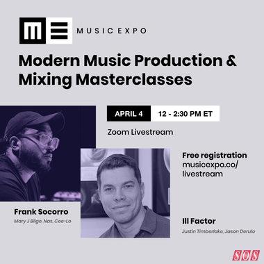 Free livestream seminars from MusicExpo
