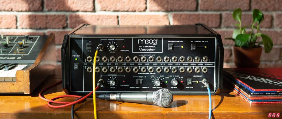 The Moog Vocoder is back!