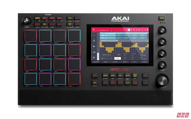 Akai MPC Live II unveiled
