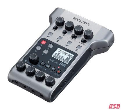 Zoom PodTrakP4 Podcasting Recorder