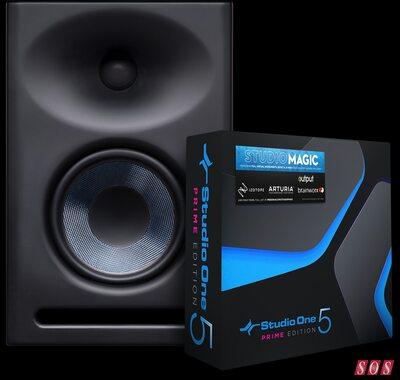 PreSonus monitors Studio One offer