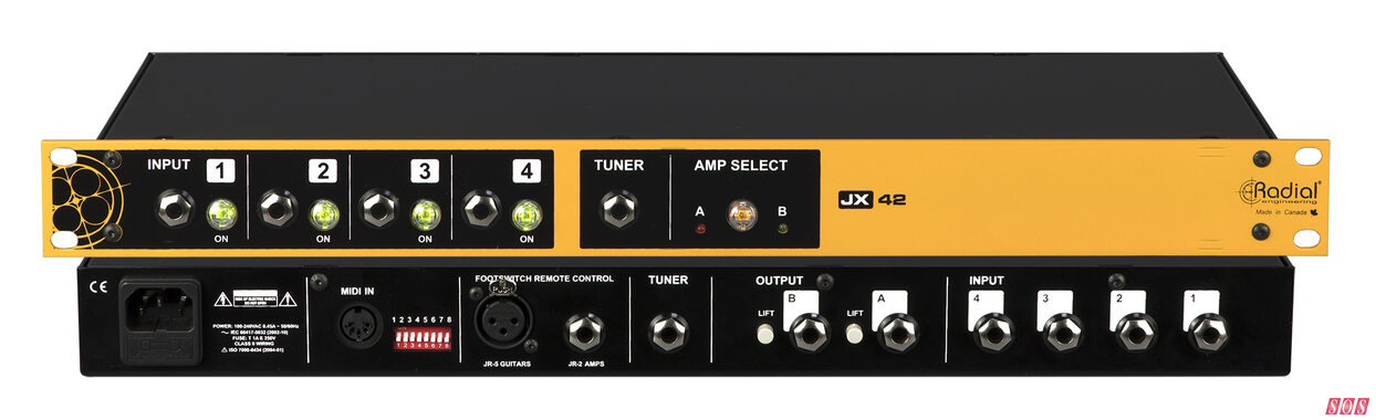 NAMM 2021: Amp routers and re-amper from Radial