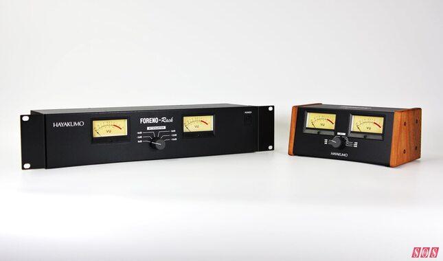 Hayakumo release hardware VU meters