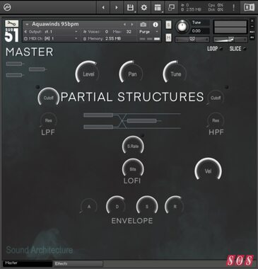 Sub51 release Partial Structures