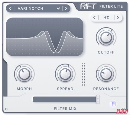 Free morphing filter from Minimal Audio