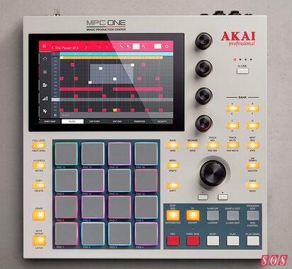 Akai unveil MPC One Retro