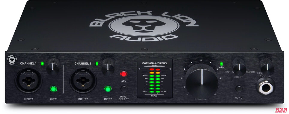 NAMM 2021: Black Lion Audio release their first ever interface