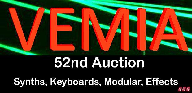 Vintage Electric Musical Instrument Auction
