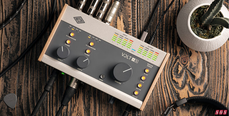 UA announce Volt series of affordable audio interfaces