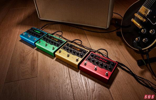 IK Multimedia announce pedal range