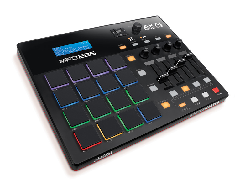 Akai launch new MPD controllers