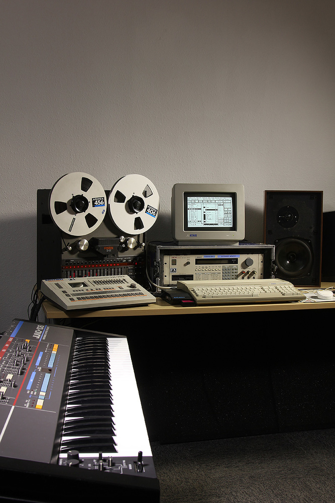 Recreating The '80s Home Studio Experience
